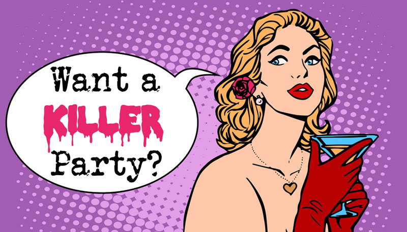 Murder Mystery Party | Murder Mystery Games | Parties, Dinner Games, Nights and Kits