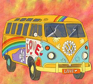 Hippie Homicide 1960s Murder Mystery Game