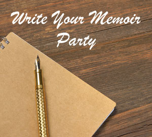 Party Games Write Your Memoir